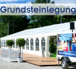 Grundsteinlegung München, Ingolstadt, Rosenheim, Landshut, Passau, Straubing, Regensburg, Augsburg, Kempten