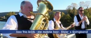 Swingmusik Jazzmusik Dixiemusik als Unterhaltungsmusik für Privatfeste und Firmenfeier
