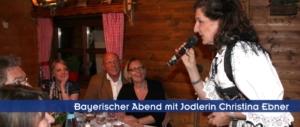 Bayerische Jodlerin in München, Augsburg, Ingolstadt, Nürnberg, Regensburg, Straubing. Passau, Salzburg, Zürich